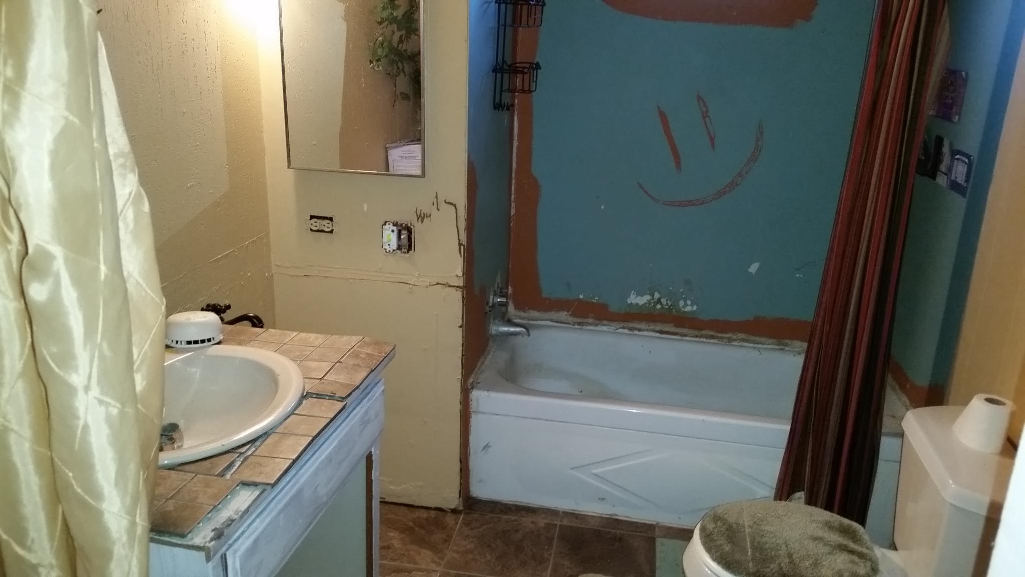 Bath Before