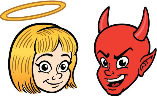 Angel and Devil Kids